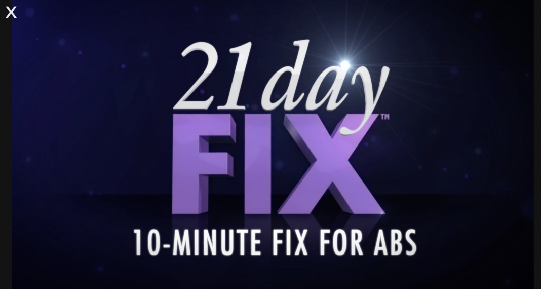 21 Day Fix 10 Minute Fix for Abs is a workout that you can choose to add to your daily routine. It's just 10 minutes and it's all abs! 21 Day Fix Workouts | 21 Day Fix Tips | 21 Day Fix Workout Reviews | Ab Workouts | Best Ab Workouts