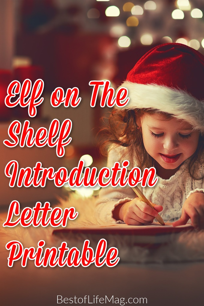 Welcome your Elf on the Shelf with this fun, free and most importantly memory-making Elf on the Shelf introduction letter printable. Introduction Ideas for Elf on a Shelf | Elf on The Shelf Printables | Elf on The Shelf Welcome Back Ideas | Introducing Elf on The Shelf | Family Holiday Tradition Ideas | Christmas Tradition Ideas for Families #elfontheshelf #printables via @amybarseghian