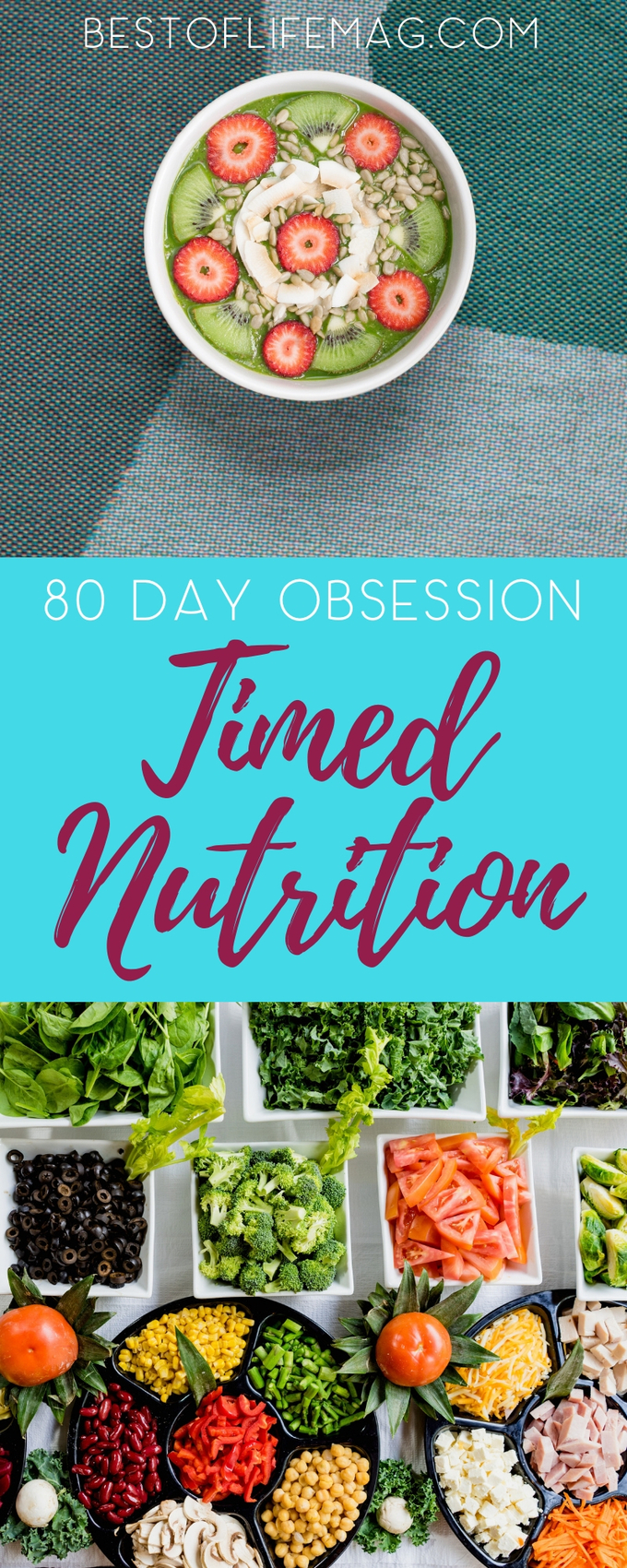 A key part of the success of the 80 Day Obsession Workout is the Timed Nutrition Plan that takes Beachbody portion control containers to the next level for maximum weight loss. 80 Day Obsession Tips | Timed Nutrition Tips | 21 Day Fix Container Counts | Beachbody Portion Control Containers | Weight Loss Meal Plan | Portion Control Container Recipes | Beachbody Recipes #80dayobsession