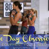 Having the necessary 80 Day Obsession equipment and supplies on hand for the 80 Day Obsession workout will help you get maximum results. What is 80 Day Obsession | 80 Day Obsession Workouts | 80 Day Obsession Review | How Does 80 Day Obsession Work