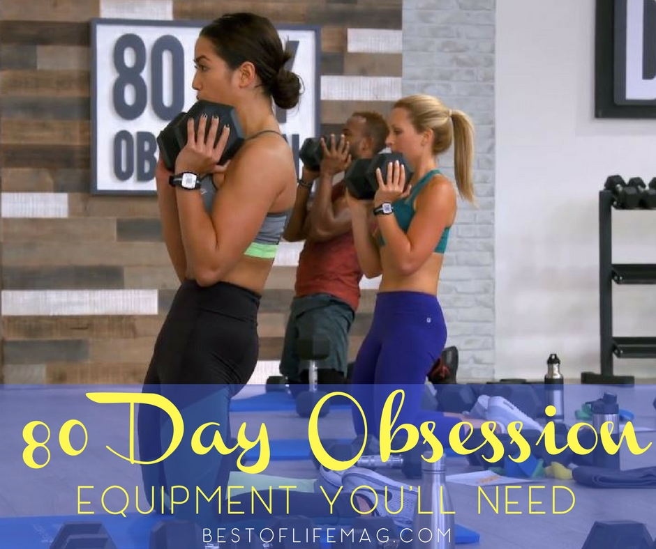 80 Day Obsession Equipment Beachbody Accessories