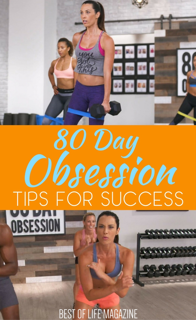 80 Day Obsession Workout By Beachbody Tips And Things To