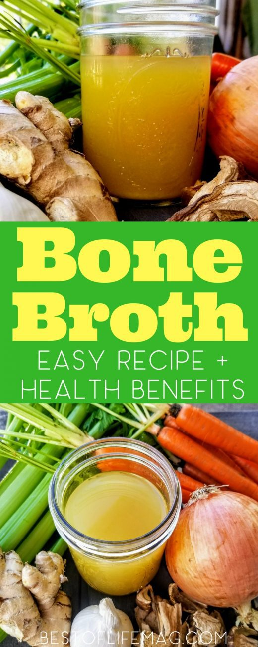 There are many health benefits that come from simple bone broth or stock that you can easily discover by using it more places than usual. Bone Broth Recipe | Healthy Recipes | Health Benefits of Bone Broth | Health Benefits of Stock | How to Make Bone Broth | How to Make Stock at Home