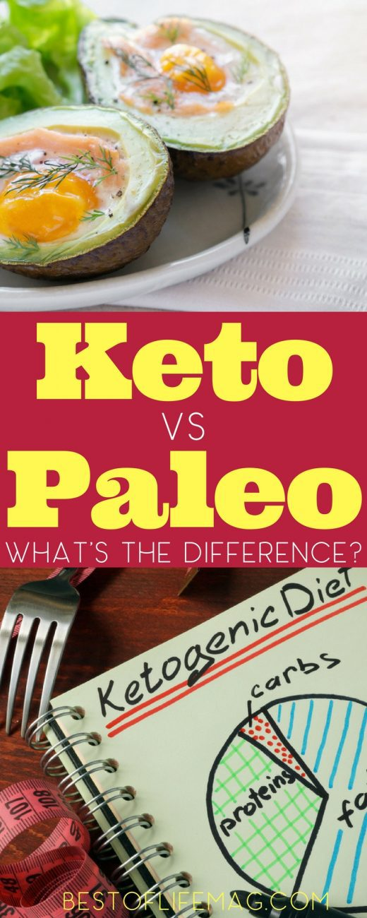 Just what is the difference between a keto vs Paleo diet? Knowing the health benefits and diet differences between the two will help you determine which one is right for you. What is a Keto Diet | Keto Diet Ideas | What is a Paleo Diet | Paleo Diet Ideas | Paleo Diet Foods | Keto Diet Foods | Ketogenic Diet Foods