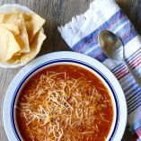 Toss this easy Crock Pot chicken tortilla soup in the slow cooker for an easy meal any night of the week. It easily converts to a ketogenic recipe for a low carb diet, too! Healthy Crock Pot Recipes | Crock Pot Soup Recipes | Crock Pot Tortilla Soup Recipes | Crock Pot Chicken Recipes | Easy Crock Pot Recipes | Easy Slow Cooker Recipes | Slow Cooker Tortilla Soup | Slow Cooker Chicken Recipes | Healthy Slow Cooker Recipes | Easy Slow Cooker Soup Recipes