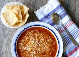Toss this easy Crock Pot chicken tortilla soup in the slow cooker for an easy meal any night of the week. It easily converts to a ketogenic recipe for a low carb diet, too! Healthy Crock Pot Recipes   Crock Pot Soup Recipes   Crock Pot Tortilla Soup Recipes   Crock Pot Chicken Recipes   Easy Crock Pot Recipes   Easy Slow Cooker Recipes   Slow Cooker Tortilla Soup   Slow Cooker Chicken Recipes   Healthy Slow Cooker Recipes   Easy Slow Cooker Soup Recipes