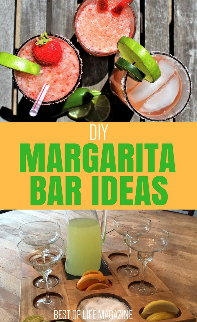 There are many different margarita bar ideas that you can use to build your own DIY margarita bar in or outside of your home. DIY Margarita Bar Decor | DIY Margarita Bar Ideas | DIY Margarita Bar | Best Margarita Bar Ideas | Best Margarita Bar Decor Ideas | Easy DIY Margarita Bar Ideas
