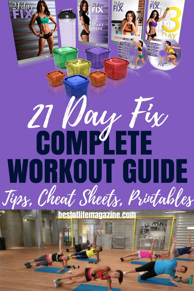 Get the results you want with this COMPLETE 21 Day Fix Workout order with a printable 21 Day Fix workout schedule and tips for each workout in the program. 21 Day Fix workout program | 21 Day Fix Workout Tips | 21 Day Fix Workouts | Total Body Cardio Fix | 21 Day Fix Upper Fix | 21 Day Fix Lower Fix | Beachbody Workouts | Pilates Fix | 21 Day Fix Cardio Fix | Dirty 30 | Yoga Fix | 10 Minute Abs Fix | Plyo Fix