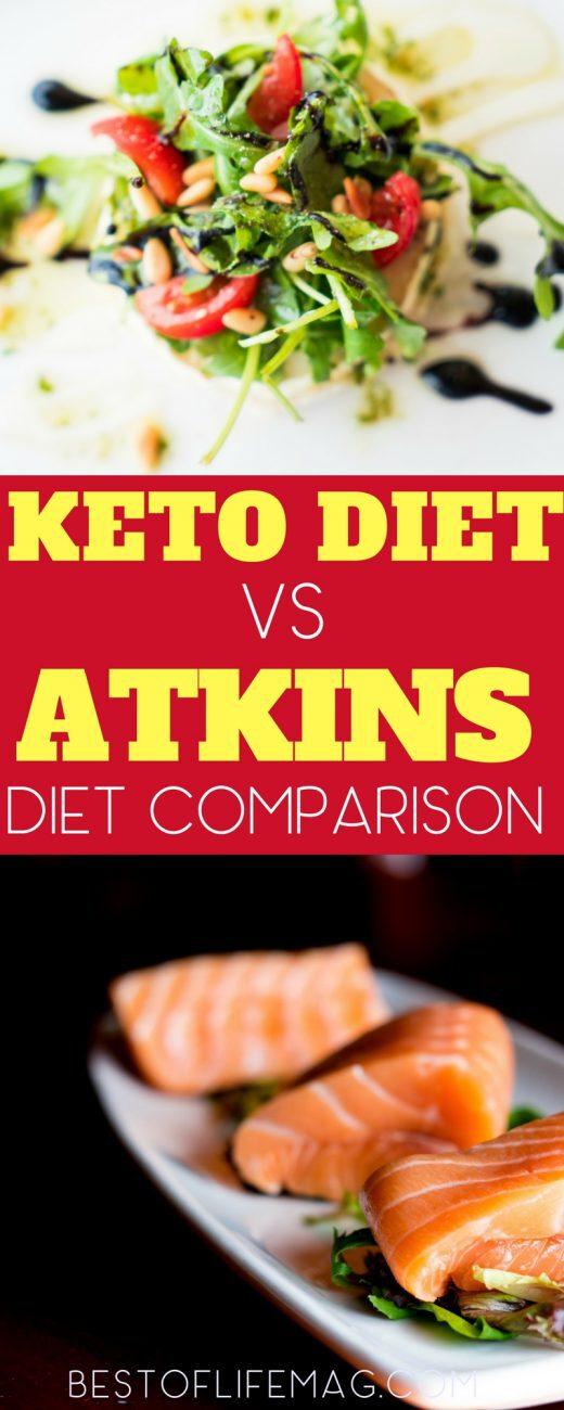Keto Vs Atkins: Low Carb Diet Differences