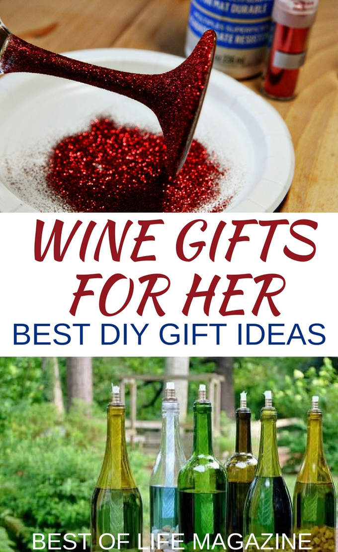 The best DIY wine gifts for women will be remembered for a long time to come and are perfect for that special woman who loves wine. DIY Wine Gifts | DIY Gifts for Mom | DIY Gifts | Best DIY Wine Gifts for Women | Easy DIY Wine Gifts for Mom
