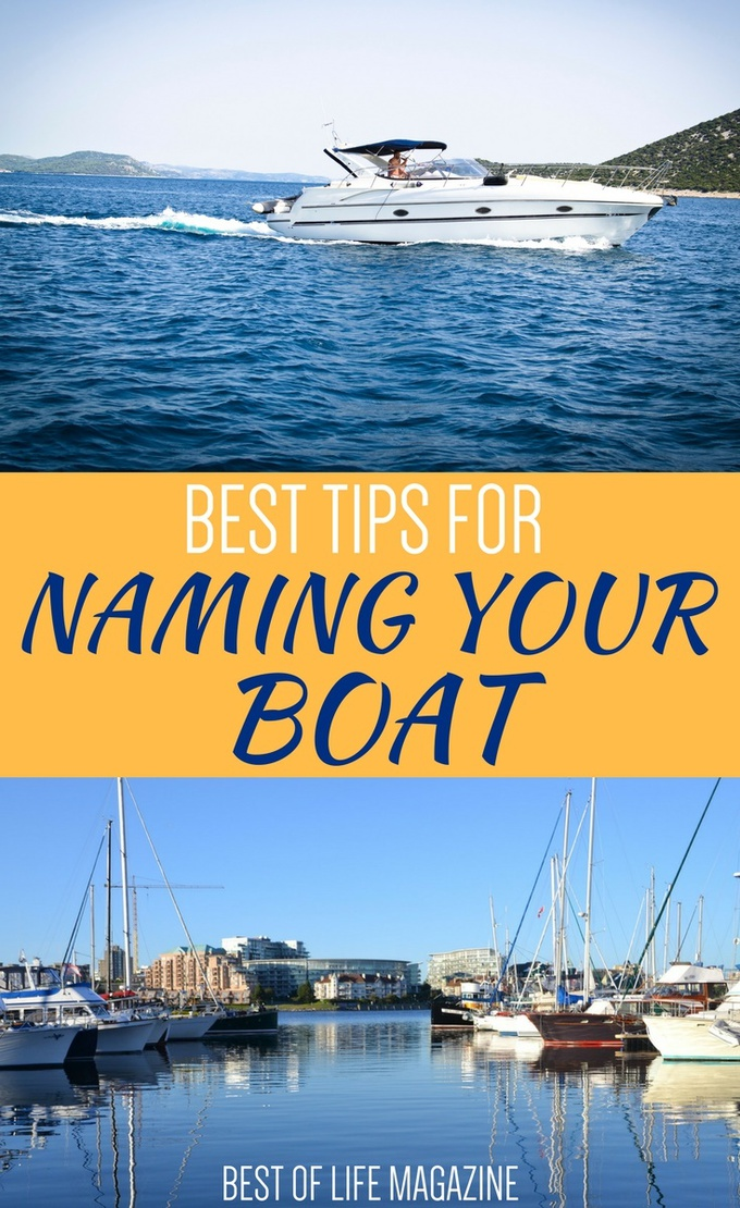 Naming your boat is one of the first things you do when you get a new boat and there are a few things to consider before you decide on the best boat name for you. How to Name a Boat | Why Name a Boat | What to Name a Boat | Boating Tips | Tips for your First Boat | Best Boating Tips