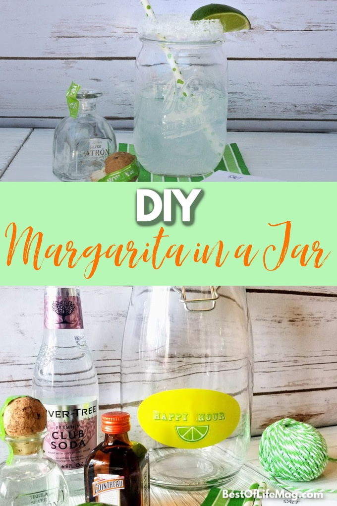 Make this DIY margarita in a jar gift for your tequila-loving friends on any occasion! Margarita in a Jar How to | How to Make a Margarita in a Jar | Best Gift Ideas | Best DIY Gift Ideas #DIY #Margarita #MargaritaRecipes #DIYCrafts #DIYGift #GiftIdeas #Gift via @amybarseghian