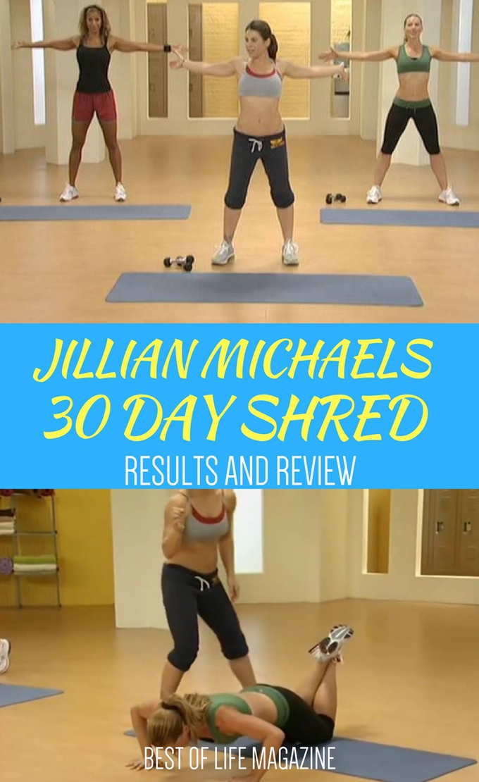 Wondering what Jillian Michael's 30 Day Shred results to expect? Look no further because we have everything you need right here. Tips for 30 Day Shred | Best Tips for 30 Day Shred | How to Get Results with 30 Day Shred | 30 Day Shred Review | Jillian Michaels 30 Day Shred Review | Jillian Michaels 30 Day Shred via @amybarseghian