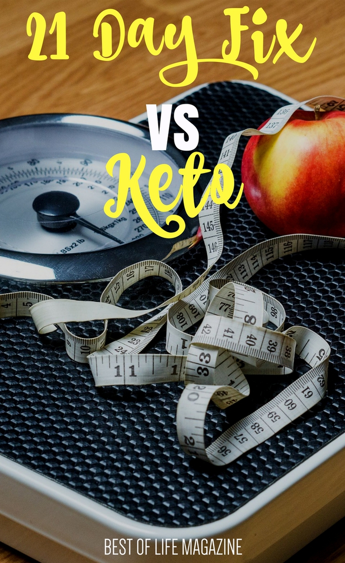 Before making a decision between 21 Day Fix vs Keto you should know the differences so you're better prepared for success during your weight loss journey. What is the 21 Day Fix | What is Keto | Whats the Difference Between 21 Day Fix and Keto #KetoDiet #keto #21DF #21DayFix #KetoLife via @amybarseghian