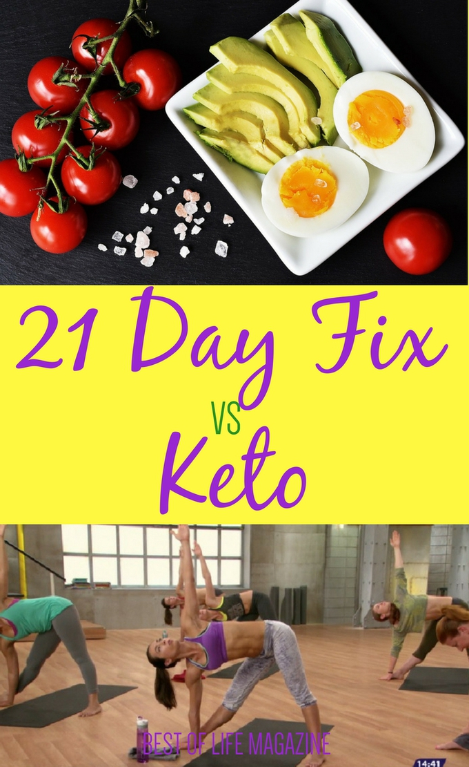 Before making a decision between 21 Day Fix vs Keto you should know the differences so you're better prepared for success during your weight loss journey. What is the 21 Day Fix | What is Keto | Whats the Difference Between 21 Day Fix and Keto #KetoDiet #keto #21DF #21DayFix #KetoLife