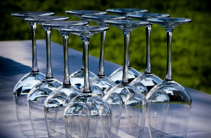 Outdoor wine glasses for summer parties will let you enjoy your wine while you enjoy the warm weather outdoors with family and friends. #wine #summer #wineglasses #party #happyhour #winetips #winedown