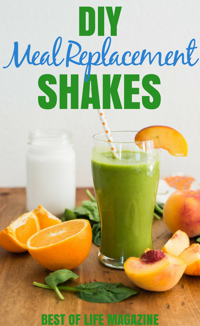 DIY Meal Replacement Shakes for Weight Loss - Best of Life Magazine