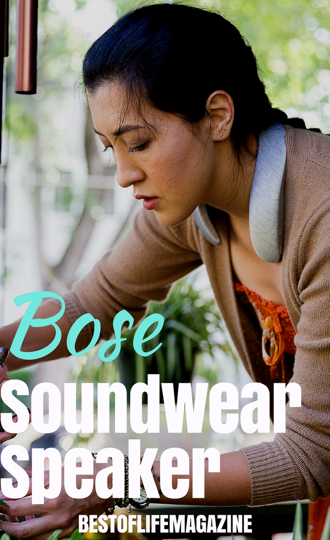 Immerse yourself in crystal clear sound without missing a thing going on in the world around you with the Bose Soundwear Companion Speaker. #BestTech #TechGadgets #Wearables #TechGifts #Gear #Speakers