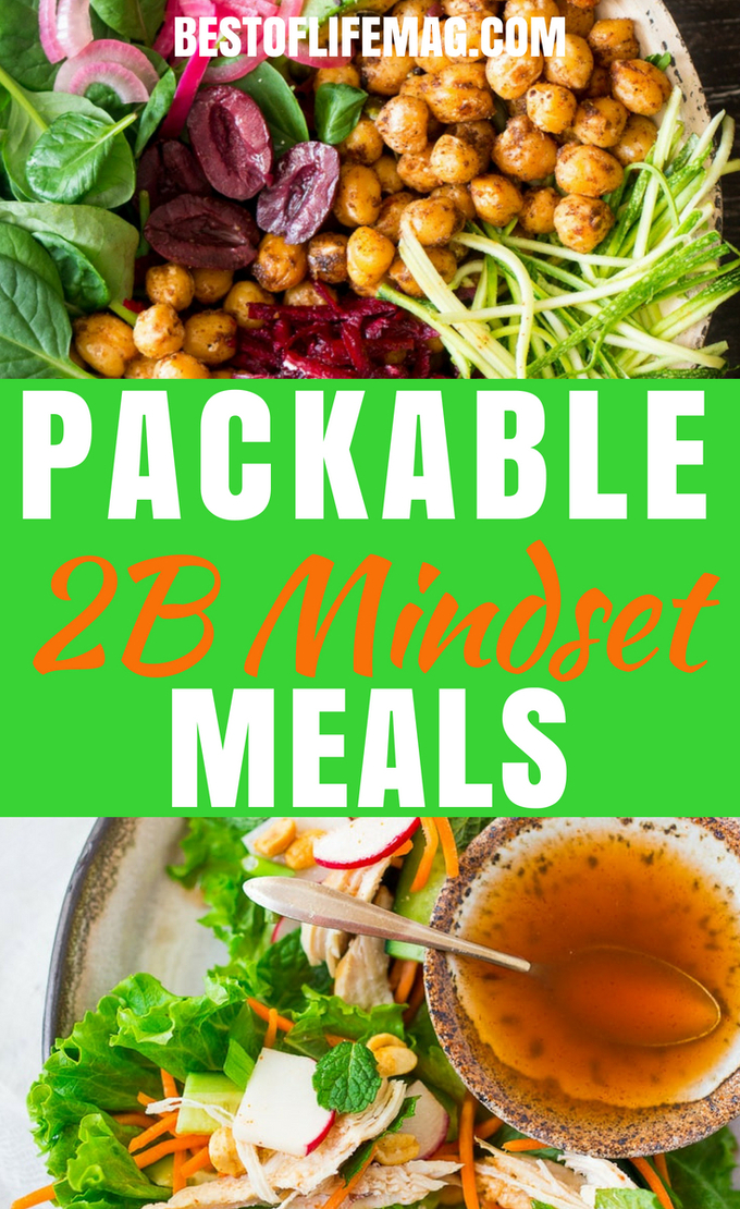 These packable 2B Mindset meals are easy to prepare, super simple to match to the PlateIt! System, and perfectly portable to help you stay on track. #2B Mindset #health #weightloss | Weight Loss Recipes | BeachBody | 2B Mindset Recipes | 2B Mindset