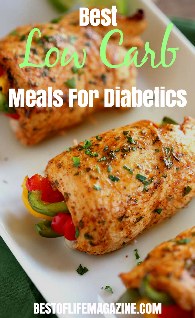 There are easy to make low carb meals for diabetics that are perfect for doing meal prep, making it so easy to stick to your keto meal plan! #lowcarb #diabetic #health | Best Low Carb Meals for Diabetics | Healthy Meals for Diabetics | Keto Meals for Diabetics