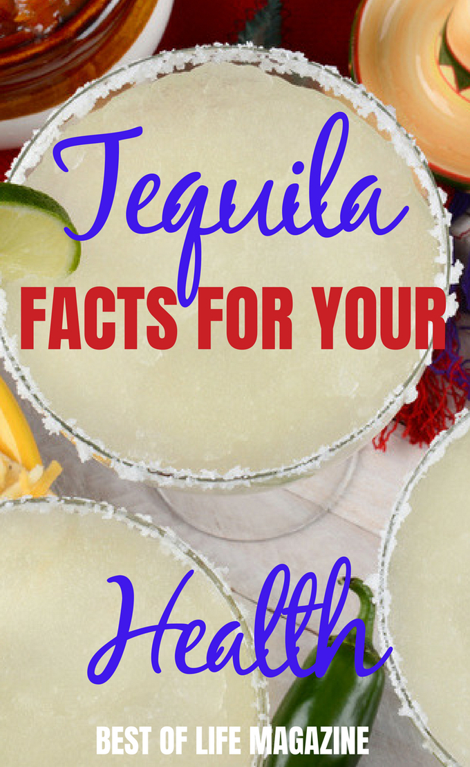 Knowing tequila facts for your health will help you enjoy your margaritas and tequila cocktails even more! #tequila #health #happyhour | How Healthy is Tequila | Can Tequila be Healthy | Is Tequila Good for You