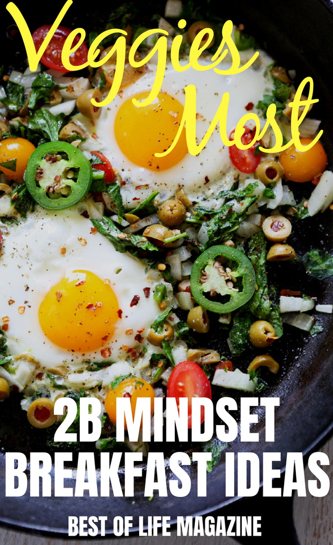 Not only can veggies be a really tasty addition to your meal, but a 2B Mindset veggies most breakfast will help you feel energized to start your day. Veggies Most Recipes | 2B Mindset Recipes | 2B Mindset Breakfast Ideas | Beachbody Recipes #2BMindset #VeggiesMost #weightloss #recipes #Beachbody