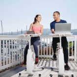 Use the Flexispot V9 Desk Exercise Bike to not only stay healthy but to fuel your workday from home in just about any room you'd like. Exercise Bikes | Fitness Tips | Desk Exercises | Work from Home Tips #workfromhome #exercise #fitness #healthyliving