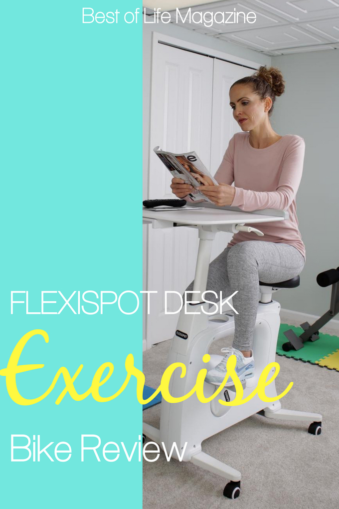 Use the Flexispot V9 Desk Exercise Bike to not only stay healthy but to fuel your workday from home in just about any room you'd like. Exercise Bikes | Fitness Tips | Desk Exercises | Work from Home Tips #workfromhome #exercise #fitness #healthyliving via @amybarseghian
