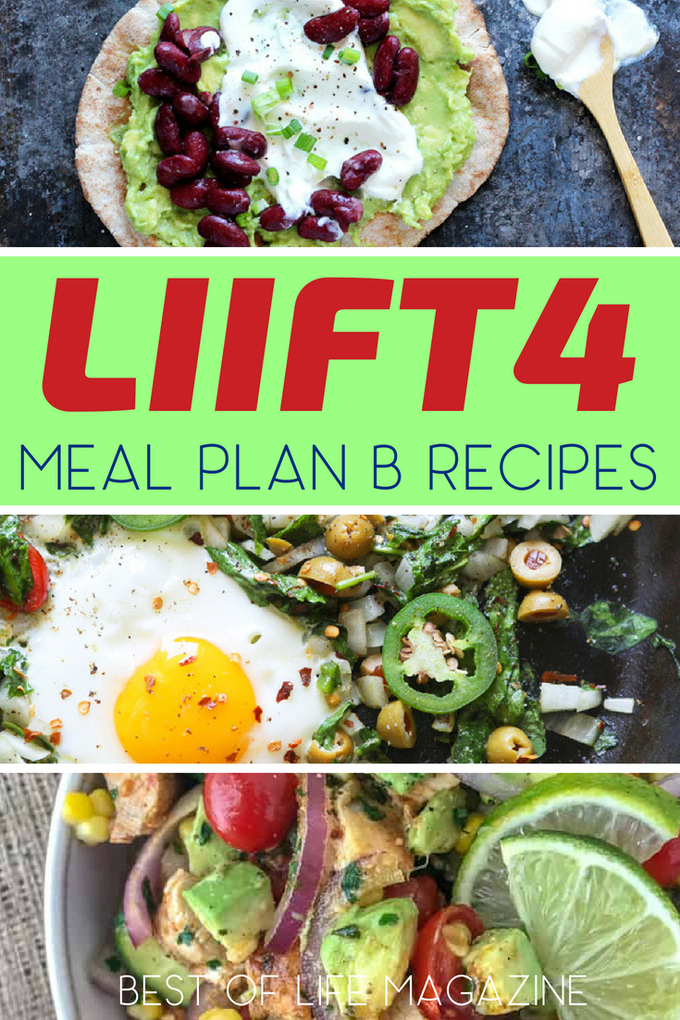 Using some easy LIIFT4 Meal Plan B recipes you can fuel your body so that you can focus on losing weight and maximizing your results. Easy Recipes | Healthy Recipes | Weight Loss Recipes | Beachbody Recipes #LIIFT4 #BeachBody #mealplan #recipes