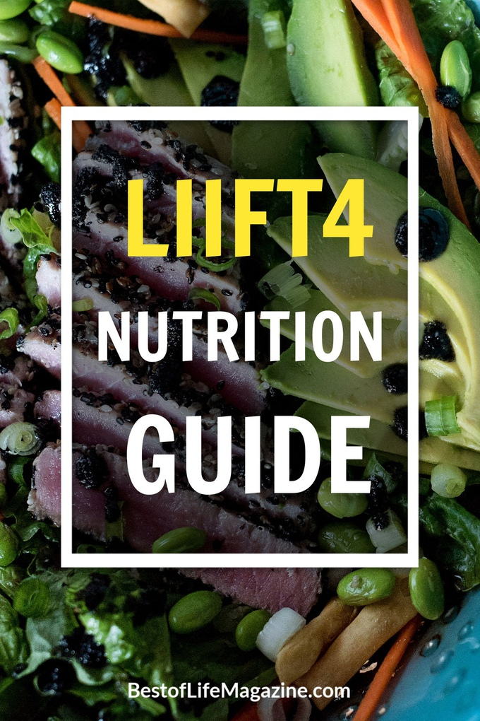 Without a set meal plan you may feel lost as to where to begin, but losing weight and living a healthy lifestyle is easy with this LIIFT4 Nutrition guide. LIIFT4 Meal Plan Ideas | LIIFT4 Recipes | Easy Beachbody Recipes | Weight Loss Recipes #LIIFT4 #recipes #beachbody #weightloss via @amybarseghian
