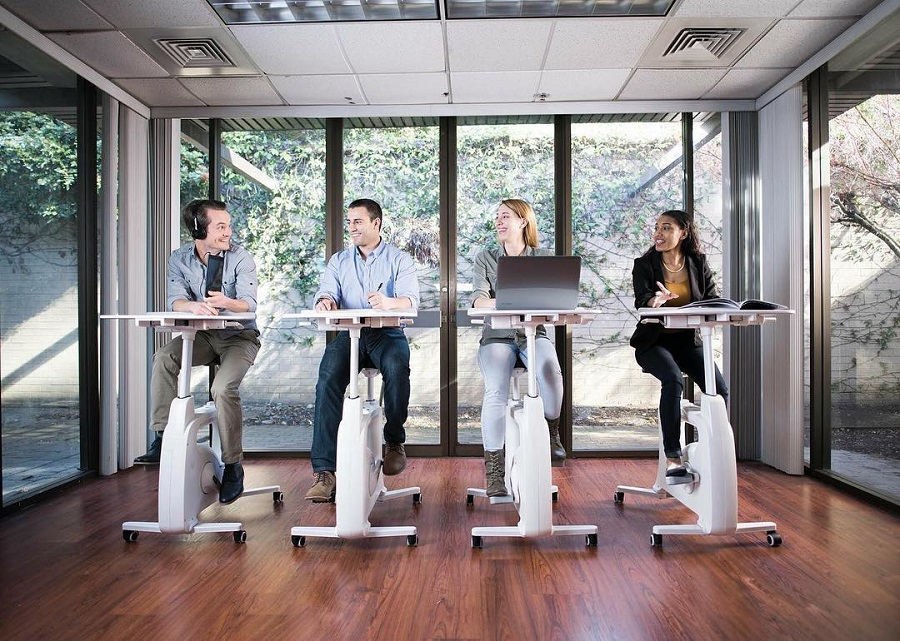 Use the Flexispot V9 Desk Exercise Bike to not only stay healthy but to fuel your workday from home in just about any room you'd like. Exercise Bikes   Fitness Tips   Desk Exercises   Work from Home Tips #workfromhome #exercise #fitness #healthyliving