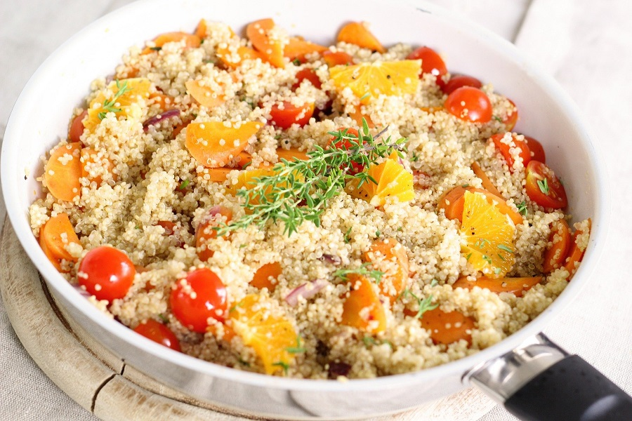 2B Mindset Crock Pot Recipes a Bowl of Quinoa