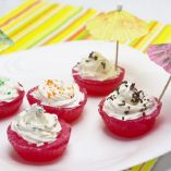 Enjoy margarita jello shots during your next party and take your party to the next level of fun with this twist on a classic cocktail. Margarita Recipes | How to Make Jello Shots | Party Ideas | Party Planning Tips |Party Recipes  #margarita #cocktails #happyhour #jelloshots #recipes