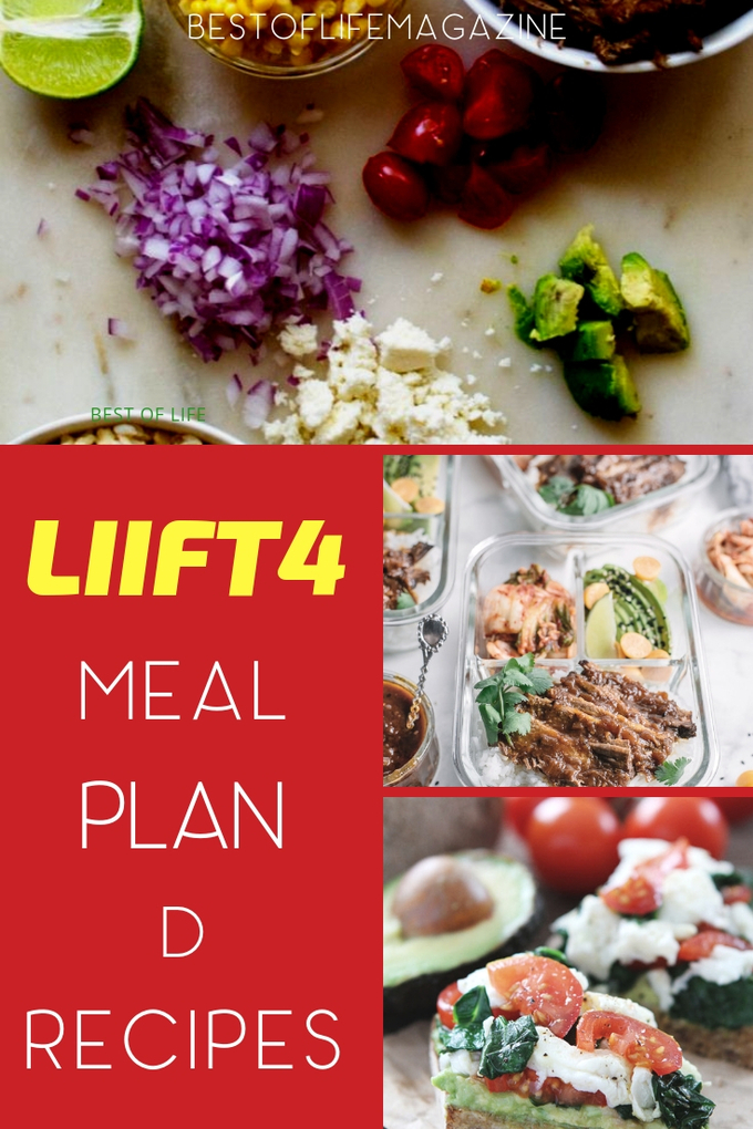 These delicious LIIFT4 Meal Plan D recipes follow LIIFT4 Plan D guidelines and are easy to make and easy to fit into your personalized plan. LIIFT4 Meal Plan Recipes | Weigh Loss Recipes | Healthy Recipes for Weight Loss | Beachbody Recipes #LIIFT4 #recipes #weightloss