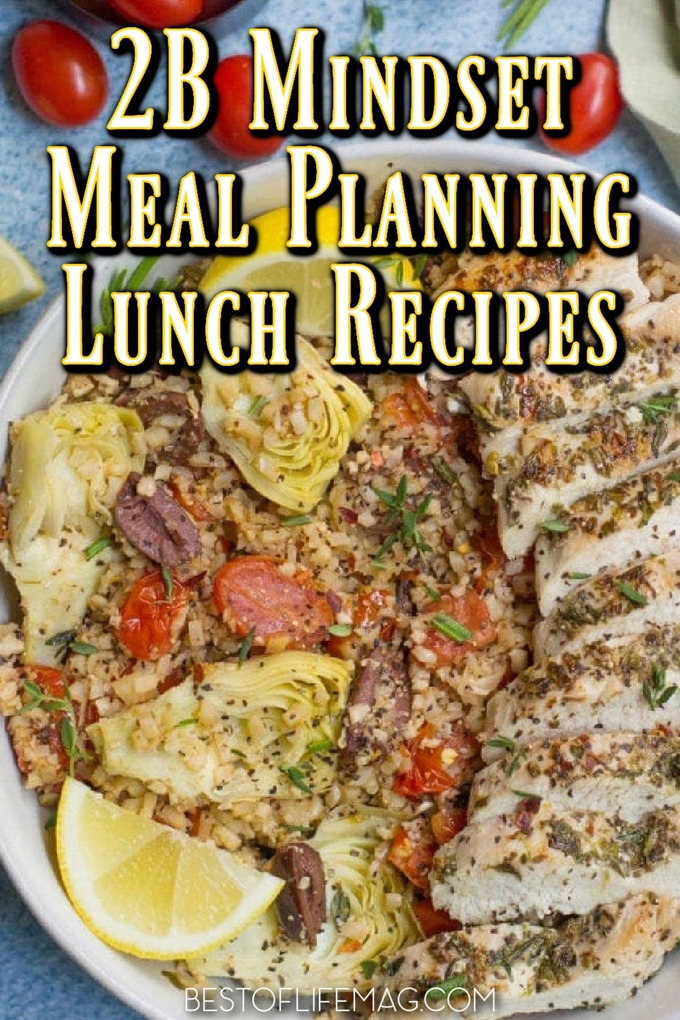 A little meal prep with your 2B Mindset meal plan ideas for lunch is a great way to be sure you are getting the proper ratio of healthy foods that this Beachbody meal plan requires. 2B Mindset Recipes | 2B Mindset Recipes for Lunch | Lunch Recipes for Weight Loss | Lunch Recipes for 2B Mindset | 2B Mindset Meal Plan Week 1 | Beachbody Recipes #2BMindset #lunch
