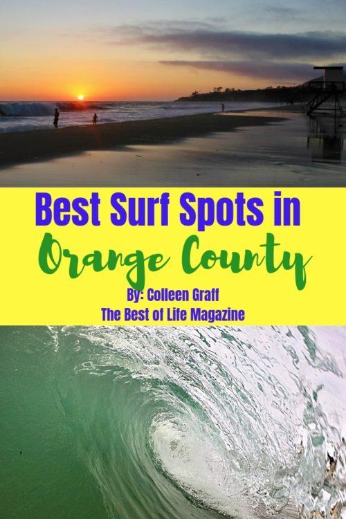 Best Surf Spots in Orange County eBook