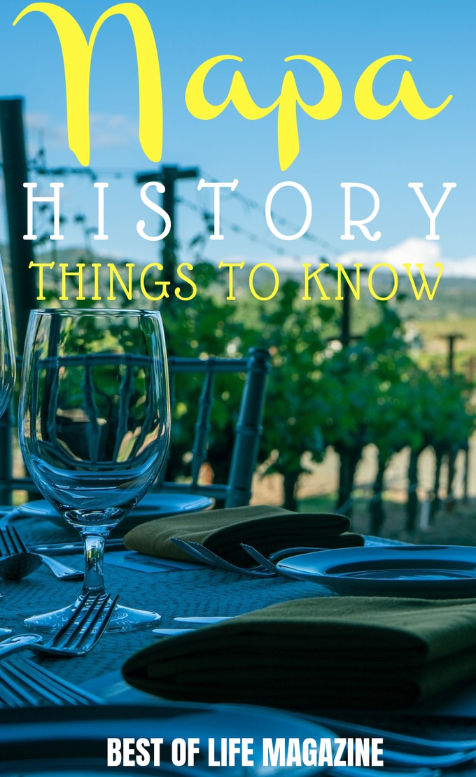 When traveling to Downtown Napa, you more than just wine tastings and the beauty of Napa when you learn Napa history throughout your stay. Things to do In Napa | Napa Travel Tips | Luxury Travel #napa #travel