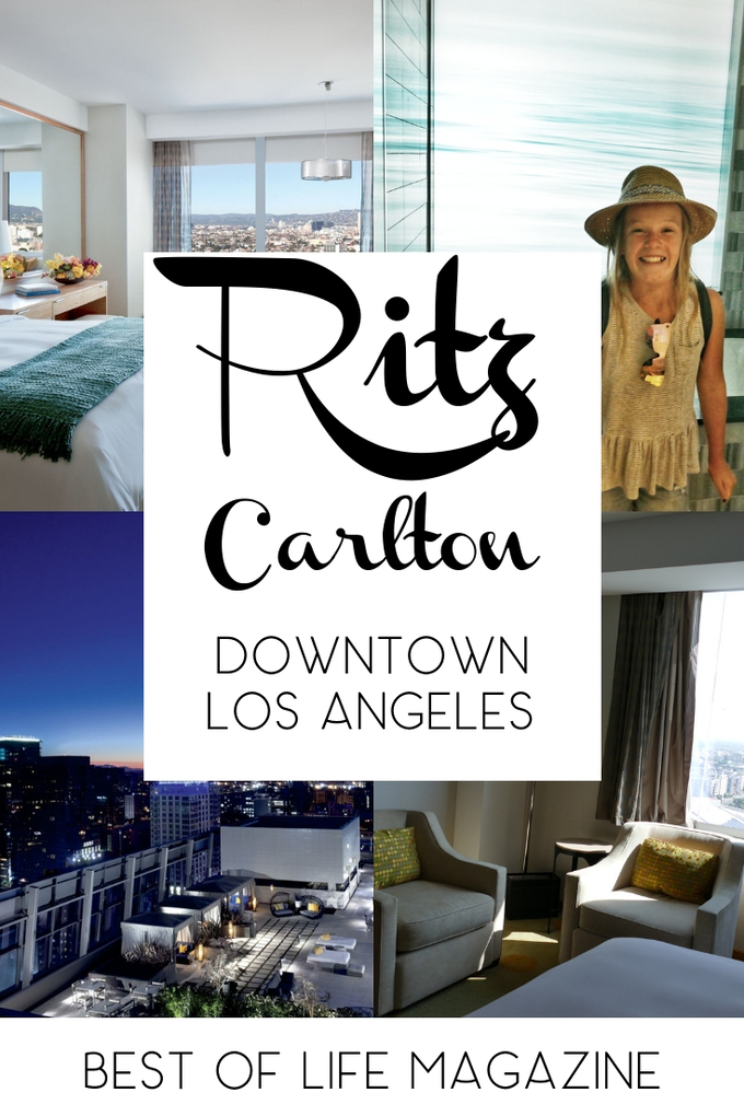 Staying at the Ritz Carlton Los Angeles is a luxurious experience with many amenities to compliment your travel experience so you can make memories. Downtown LA Travel Tips | California Travel Tips | Luxury Hotels | DTLA #traveltips #ritzcarlton
