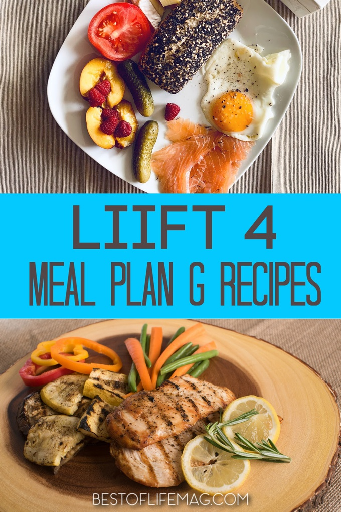 LIIFT4 Plan G recipes provide the maximum amount of carbs to fuel performance and protein for muscle build and recover. Recipes for LIIFT4 | Beachbody Recipes | Weight Loss Recipes | Healthy Recipes | Food for Muscle Growth #food #LIIFT4 #beachbody #recipes #weightloss via @amybarseghian