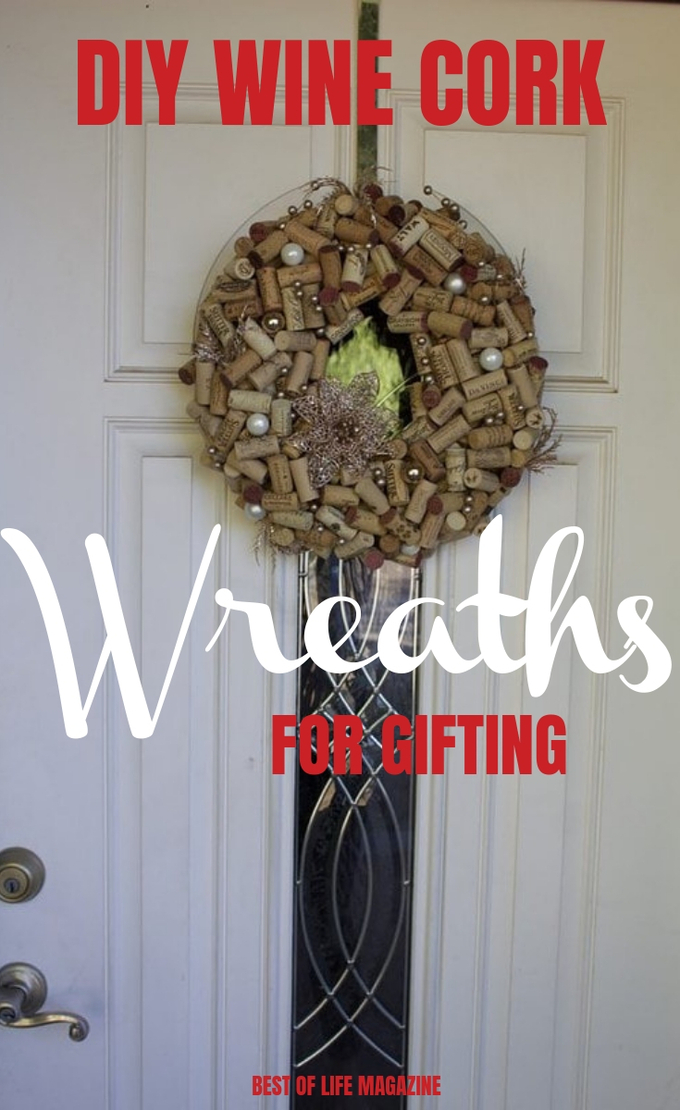 Use these creative DIY wine cork wreaths to give the best homemade gifts any wine lover would appreciate during the holiday season. DIY Gift Ideas | DIY Gifts | Wine Gifts | DIY Home Décor | DIY Holiday Decorations | #DIY #wine