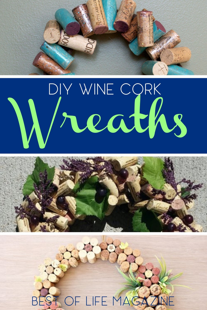 Use these creative DIY wine cork wreaths to give the best homemade gifts any wine lover would appreciate during the holiday season. DIY Gift Ideas | DIY Gifts | Wine Gifts | DIY Home Décor | DIY Holiday Decorations | #DIY #wine via @amybarseghian