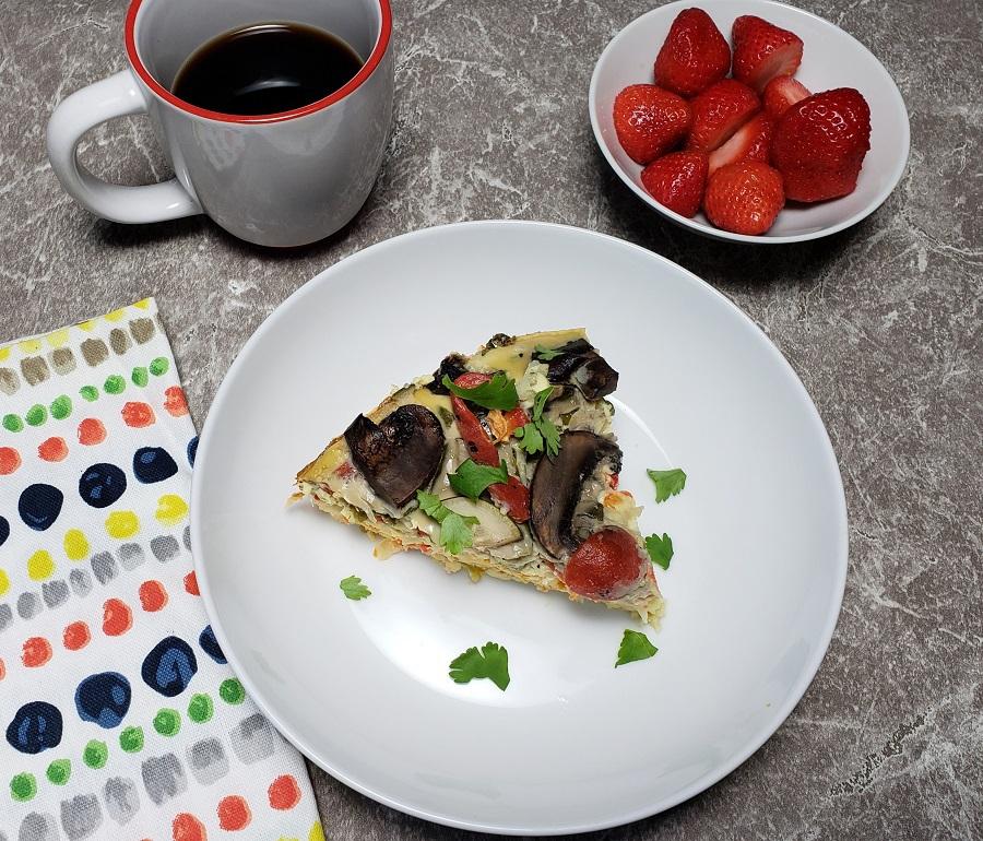 Vegetable Egg Breakfast Casserole: Crockpot Overnight Breakfast Casserole