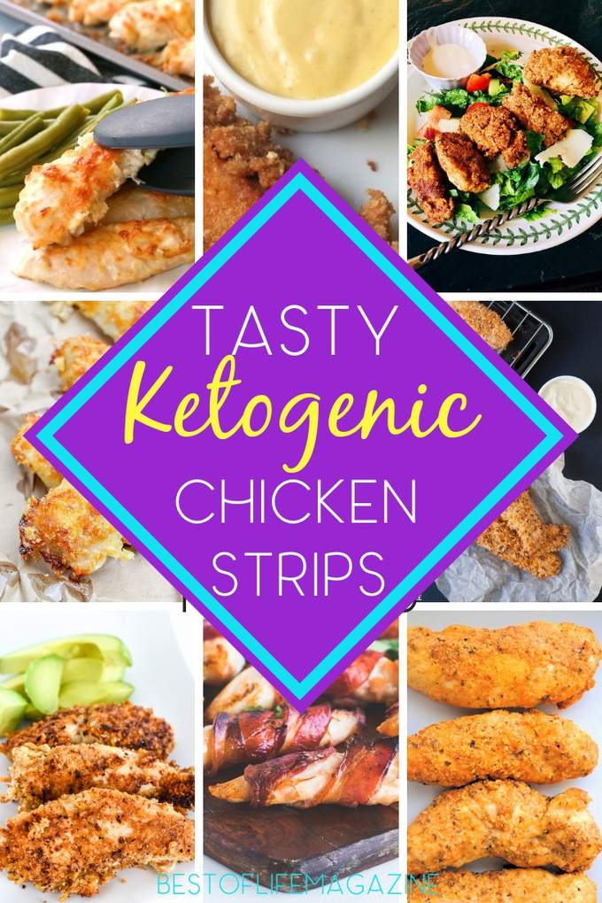 The best ketogenic chicken strips recipes fit into your keto diet and give you the ability to eat a classic food you may have thought you'd never enjoy again.  Recipes for Weight Loss | Healthy Chicken Recipes | Low Carb Recipes | Easy Recipes | Keto Chicken Recipes | Keto Recipes | Poultry Recipes #lowcarb #chicken via @amybarseghian