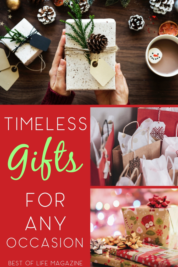 The best timeless gifts are gift ideas that everyone from children to grandparents and friends will enjoy for a long time to come. Gifts for Dad | Tweens and Teens | Gift Ideas for Men | Holiday Gift Guide | Gifts for Mom | #gifts via @amybarseghian