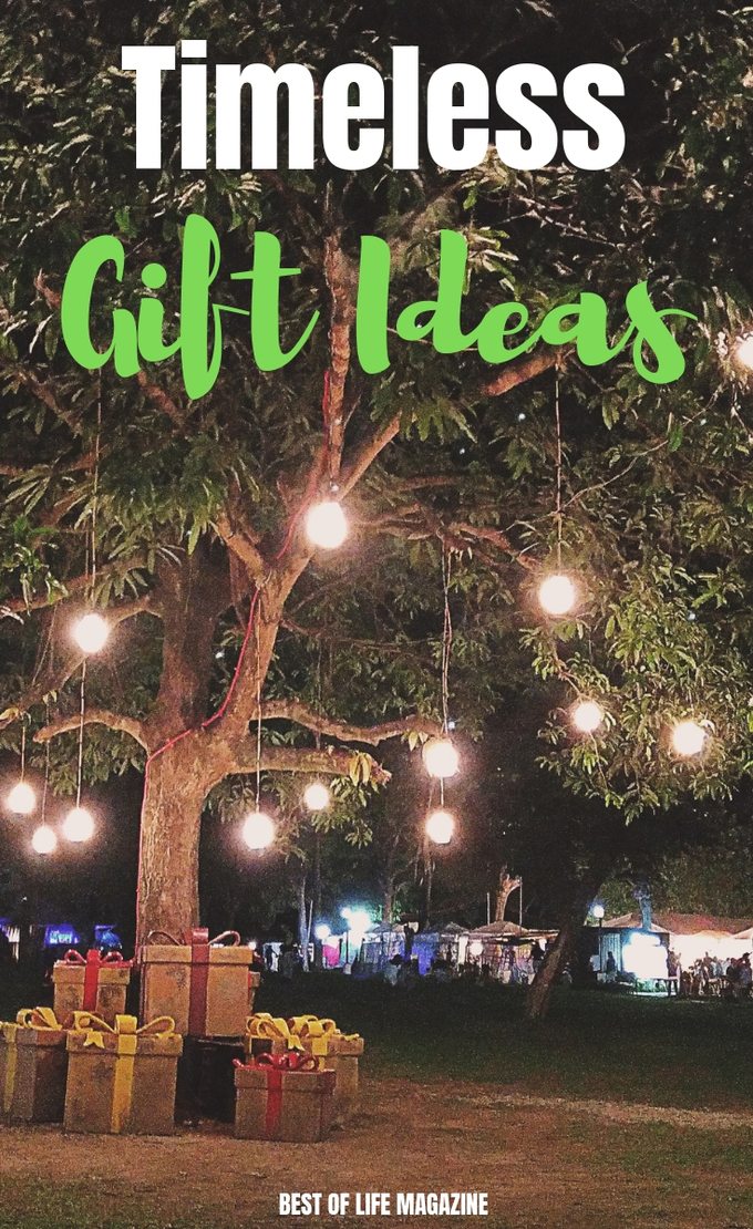 The best timeless gifts are gift ideas that everyone from children to grandparents and friends will enjoy for a long time to come. Gifts for Dad   Tweens and Teens   Gift Ideas for Men   Holiday Gift Guide   Gifts for Mom   #gifts