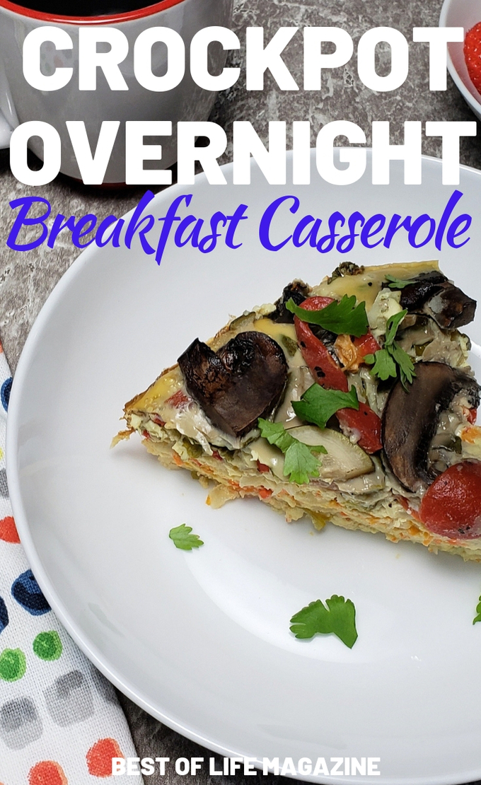 Adding vegetables to your breakfast is an easy way to start your day off in a healthy way. This delicious 2B Mindset crockpot overnight breakfast casserole helps you do just that. Slow Cooker Recipes | 2B Mindset Recipes | Healthy Breakfast Recipes | Beachbody Recipes #beachbody