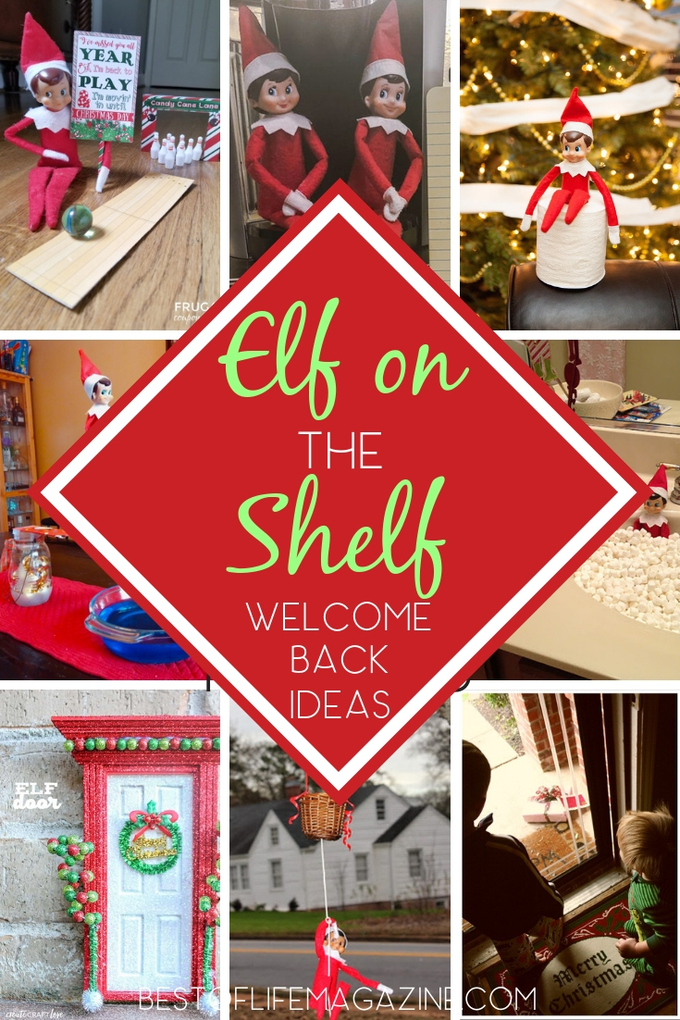 Welcome back Elf on the Shelf ideas can help everyone in the family get excited for the fun antics of your family elf during the Christmas season. Fun Elf on The Shelf Ideas | Introduce Elf on the Shelf | Holiday Traditions | Things to Do During the Holidays #elfontheshelf #christmas