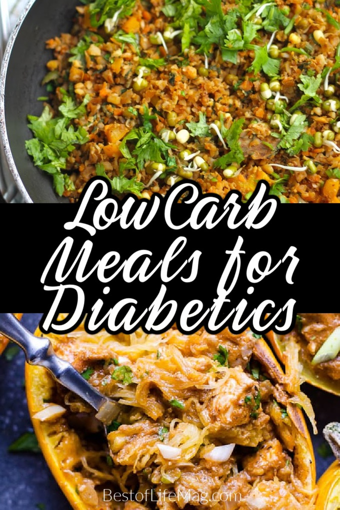 There are easy to make low carb meals for diabetics that are perfect for doing meal prep, making it so easy to stick to your keto meal plan! Low Carb Meals with Ground Beef | Low Carb Meals with Chicken | Keto Meals for Diabetics | Diabetic Keto Recipes | Dinner Recipes for Diabetics | Lunch Recipes for Diabetics | Weight Loss Tips for Diabetics #lowcarb #diabetics via @amybarseghian