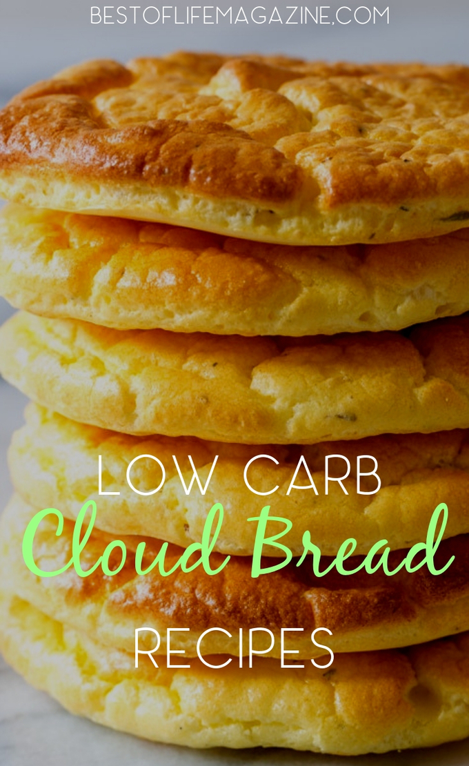 The best low carb cloud bread recipes can help you enjoy bread again and keep you losing weight in a healthy way. Low Carb Bread Recipes | Low Carb Recipes | Keto Bread Recipe | Keto Recipes | Healthy Recipes | Meal Planning #lowcarb