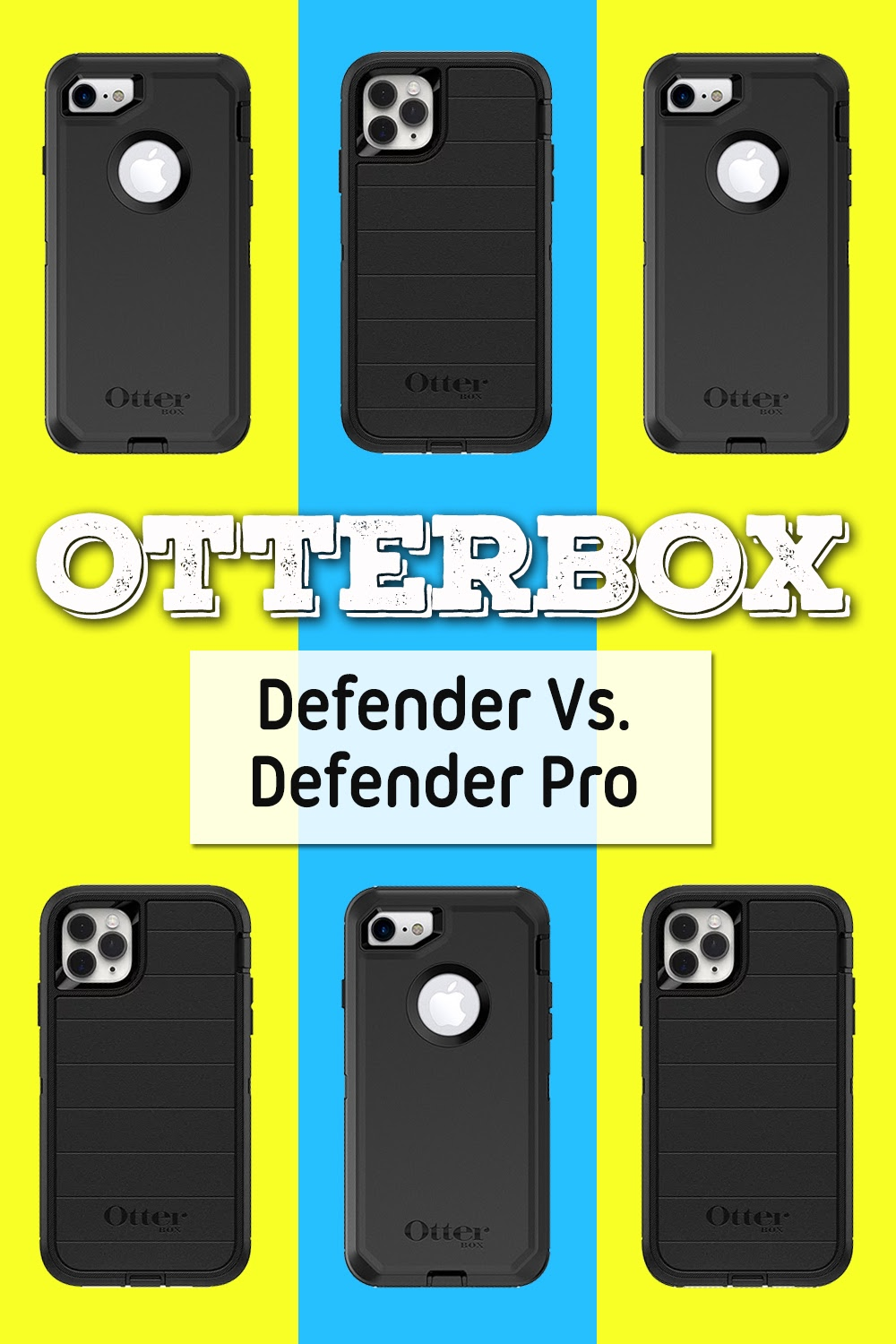 There are differences that are important to know when you compare the Otterbox Defender Pro vs Defender cases; knowing these before you buy will help you choose the right smartphone case. Otterbox Defender Case Ideas | Otterbox Case Comparisons | Otterbox Cases | Smartphone Case Reviews | Tech Reviews #otterbox